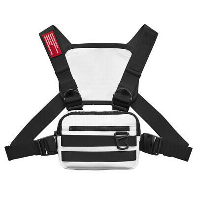 Men Chest Rig Bags Backpack Molle Tactical Harness Chest Vest Assault Pack 7