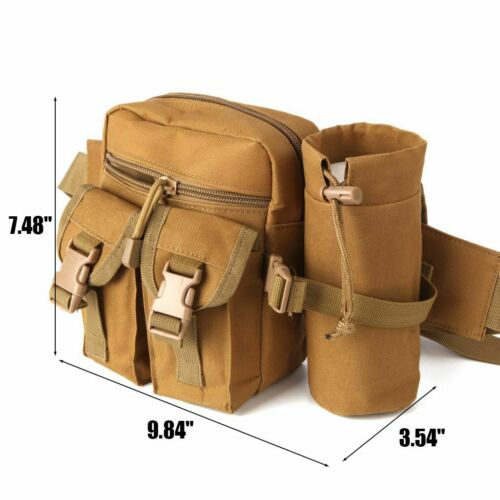 Outdoor Utility Tactical Waist Fanny Pack Pouch Military Camping Hiking Belt Bag 5