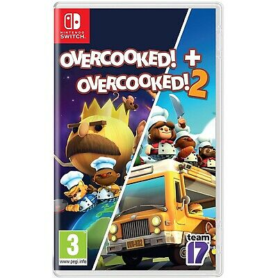 Overcooked - Special Edition + Overcooked! 2 - Nintendo Switch - Region Free