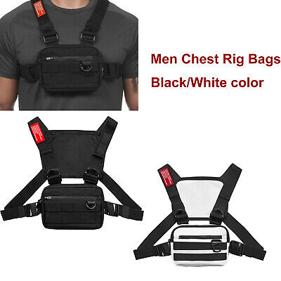 Men Chest Rig Bags Backpack Molle Tactical Harness Chest Vest Assault Pack 8
