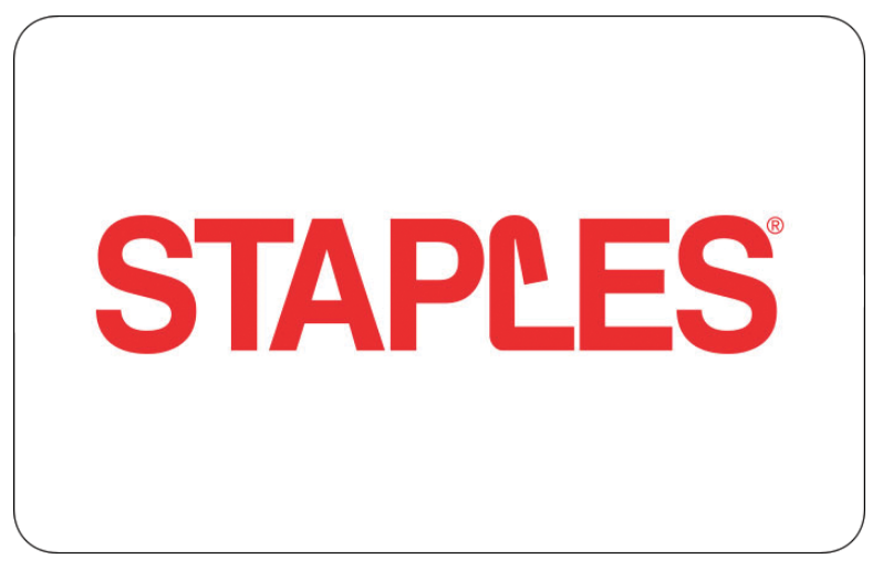 Staples Gift Card $25 $50 $100 - Email delivery 1