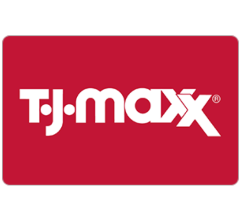 T.J.Maxx Gift Card - $25 $50 or $100 - Email delivery