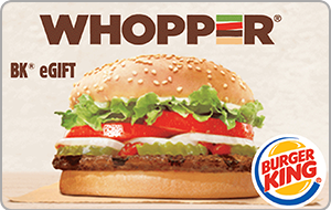 Burger King Gift Card - $25 $50 or $100 - Email delivery 1