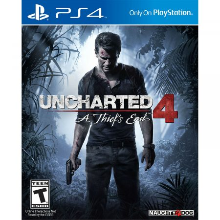 Uncharted 4: A Thief's End PS4 (Great Condition) 1