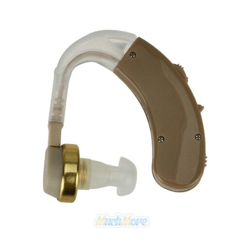 A Pair of Digital Hearing Aid Aids Kit Behind the Ear BTE Sound Voice Amplifier 9