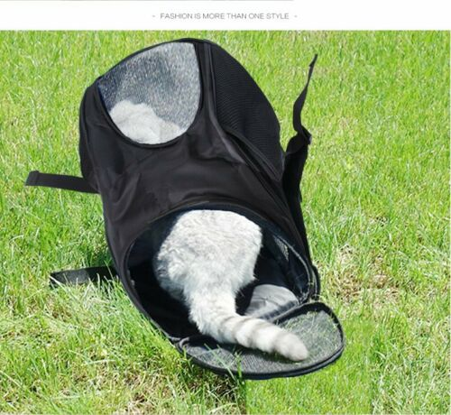 Outdoor Portable Pet Carrier Backpack Dog Cat Zipper Mesh Breathable 5