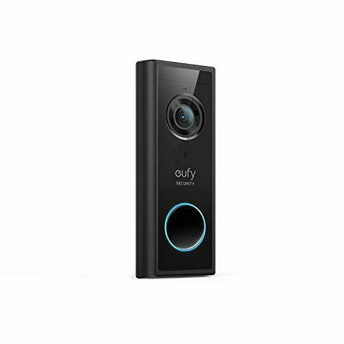 eufy Security, Wireless Add-on Video Doorbell with 2K Resolution, 2-Way Audio,
