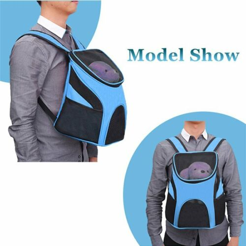 Outdoor Portable Pet Carrier Backpack Dog Cat Zipper Mesh Breathable 3