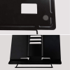 Desk Book Stand Document Holder Heavy Duty Metal Reading Stand With Book Magazin 2