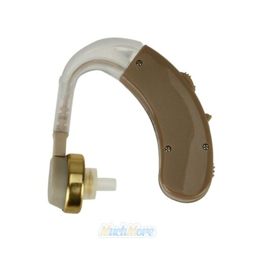 A Pair of Digital Hearing Aid Aids Kit Behind the Ear BTE Sound Voice Amplifier 4