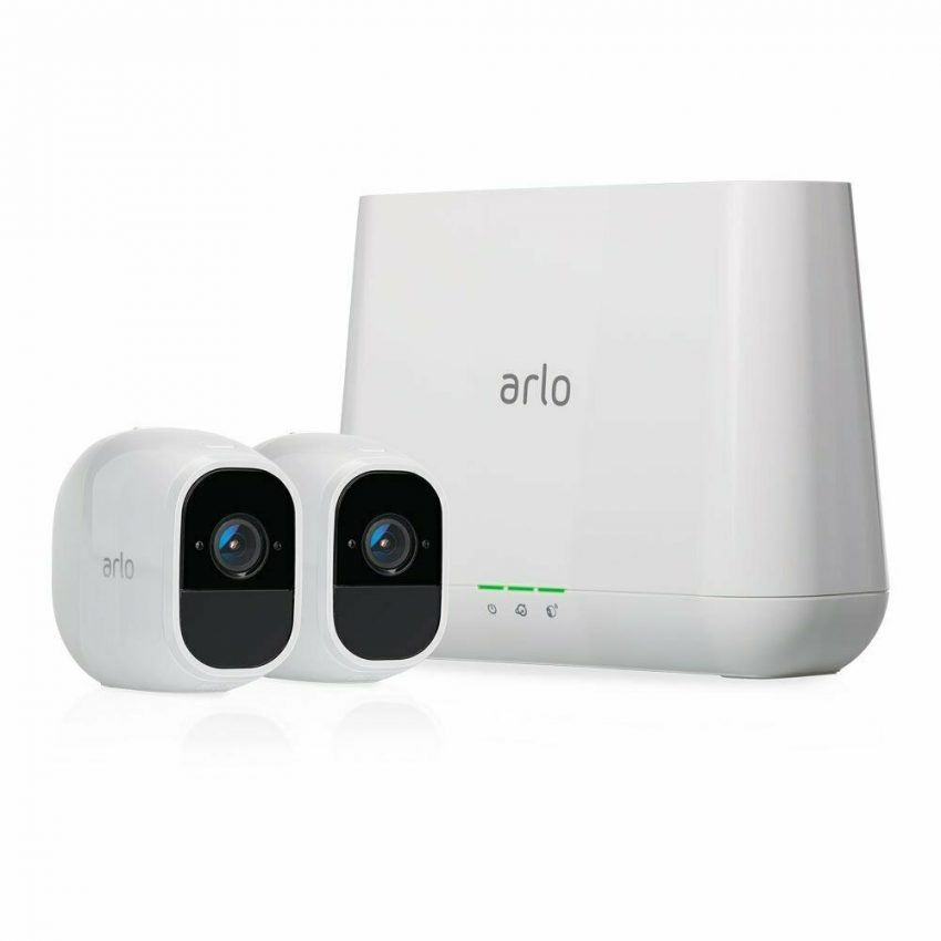 Arlo VMS4230P-100NAR Pro 2 1080p Security System with 2x HD Wire-Free Cameras (Certified Refurbished)