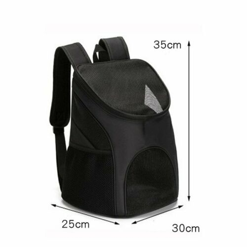 Outdoor Portable Pet Carrier Backpack Dog Cat Zipper Mesh Breathable 4