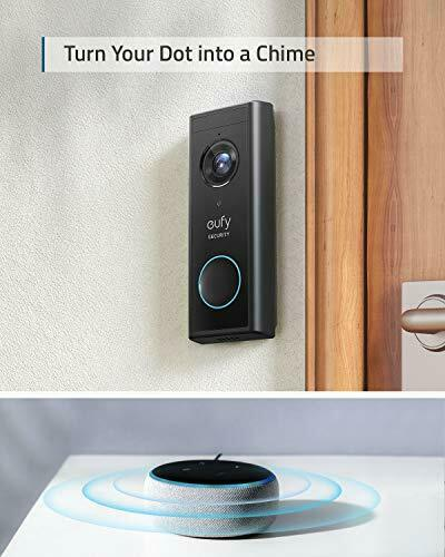 eufy Security, Wireless Add-on Video Doorbell with 2K Resolution, 2-Way Audio, 4