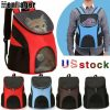Outdoor Portable Pet Carrier Backpack Dog Cat Zipper Mesh Breathable