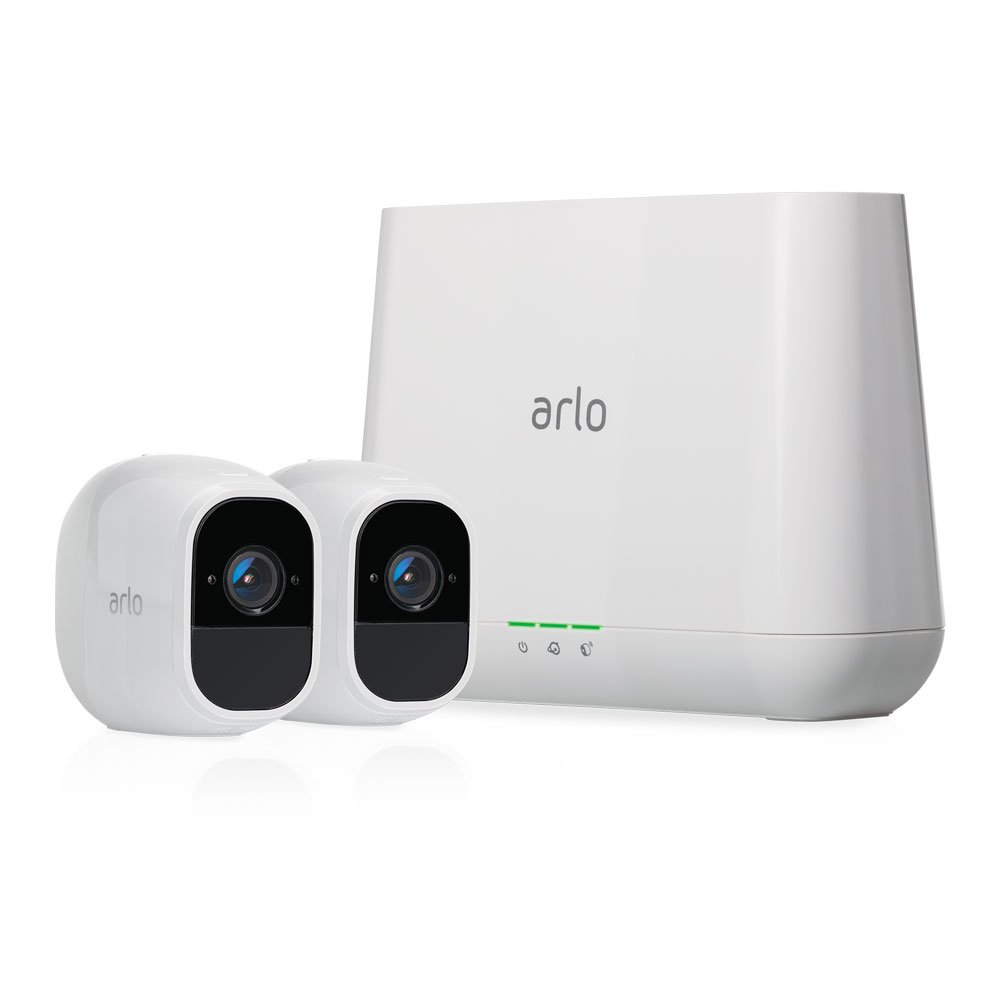 Arlo VMS4230P-100NAR Pro 2 1080p Security System with 2x HD Wire-Free Cameras (Certified Refurbished) 1