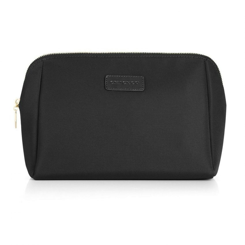 CHICECO Large Makeup Bag Toiletry Bag for Women Skincare Cosmetic Pouch 1 Black 7
