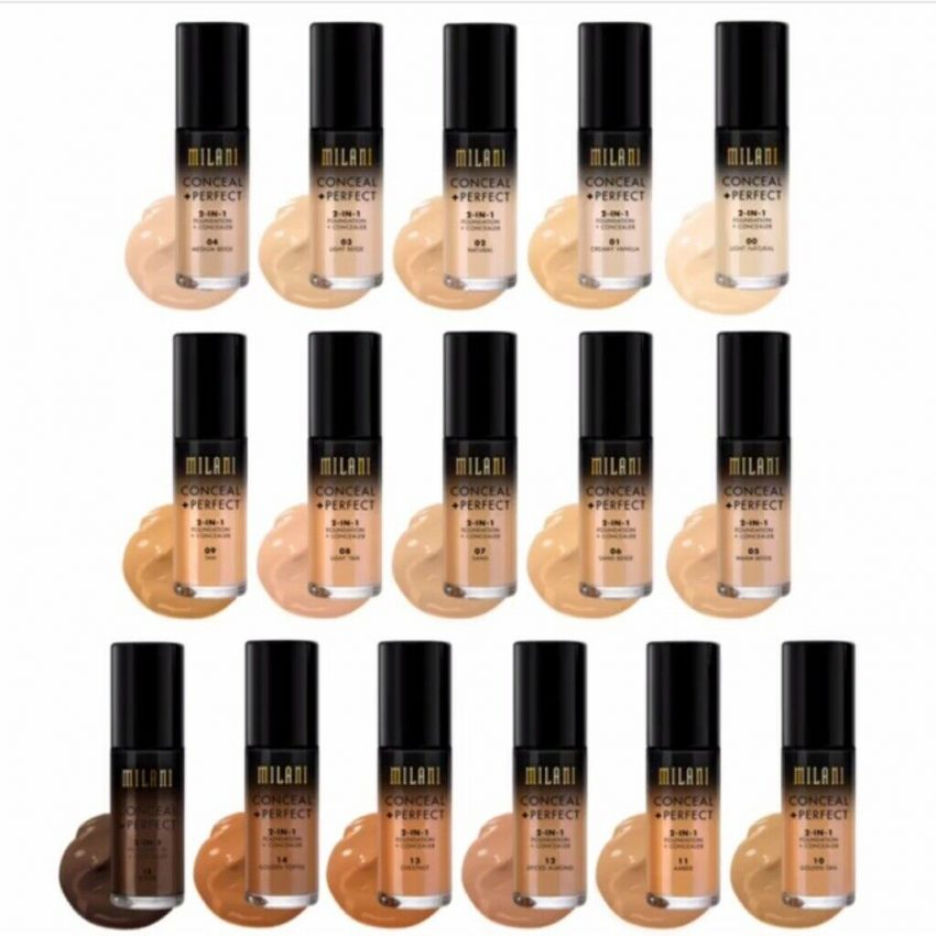 Milani Conceal + Perfect 2 - in - 1 Foundation + Concealer 5