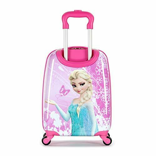 Frozen 18 Inch Luggage Hard Side Spinner Suitcase Carry on Luggage Pink 01 3