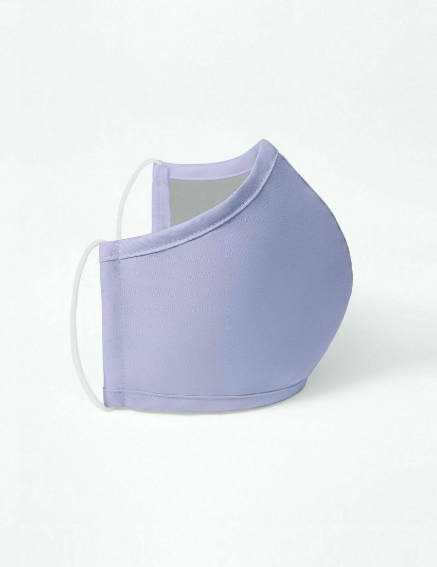 Lavender Jaanuu Antimicrobial Reusable Washable Multilayer Breathable Face Mask 2