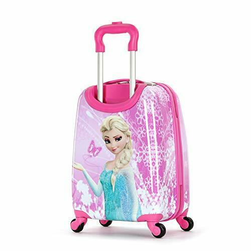 Frozen 18 Inch Luggage Hard Side Spinner Suitcase Carry on Luggage Pink 01 2