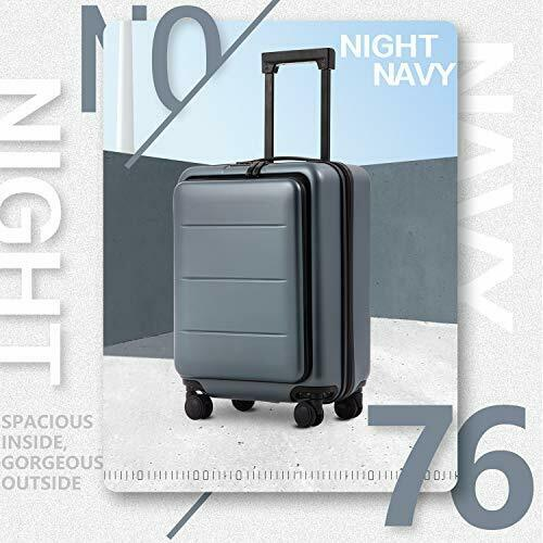 Luggage Suitcase Piece Set Carry On ABS+PC Spinner 20in(carry on) Night navy.. 2