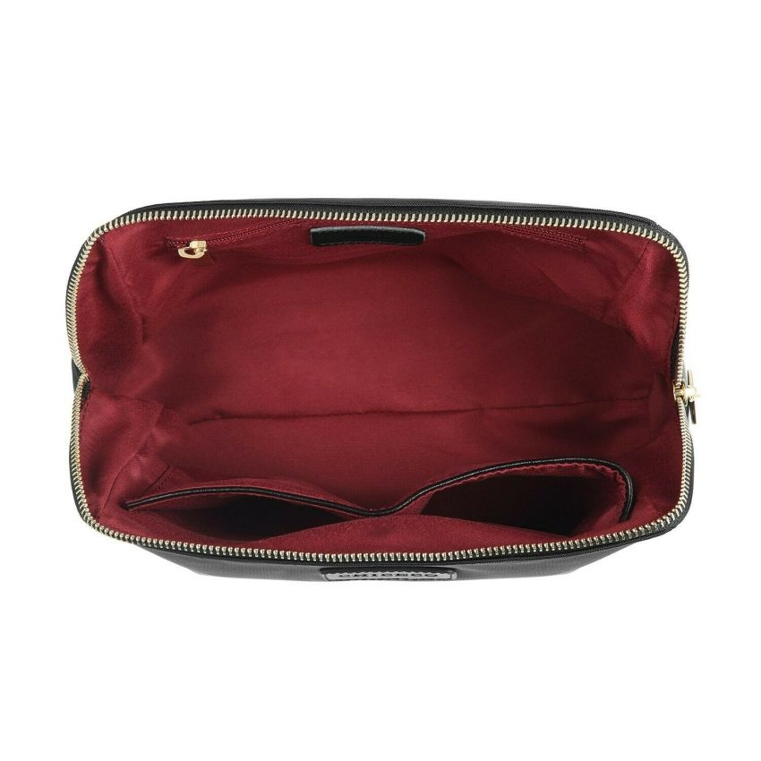 CHICECO Large Makeup Bag Toiletry Bag for Women Skincare Cosmetic Pouch 1 Black 3