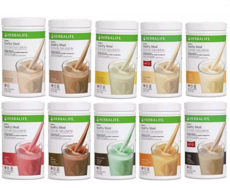 Herbalife Formula 1 Healthy Meal Nutritional Shake Mix All Flavors