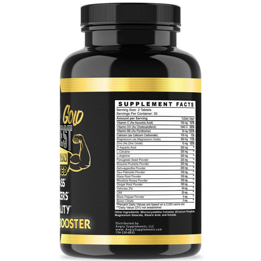 Testosterone Booster Sexpills for Men Muscle Mass Testosteron  w/ Zinc 1 Pack 1