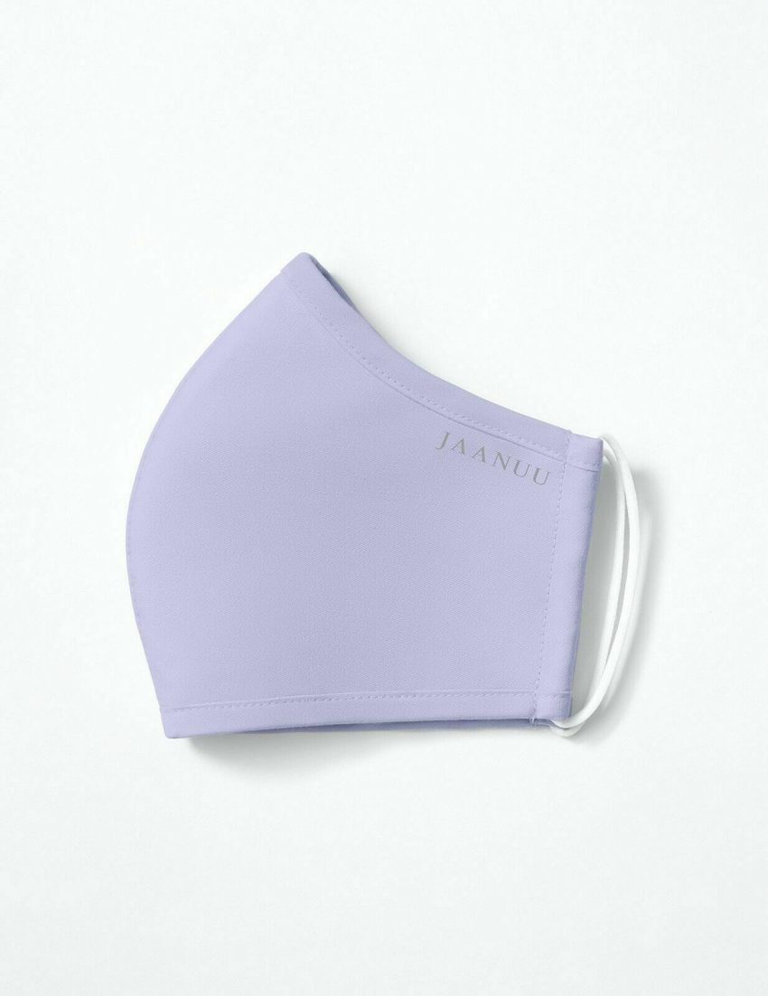 Lavender Jaanuu Antimicrobial Reusable Washable Multilayer Breathable Face Mask