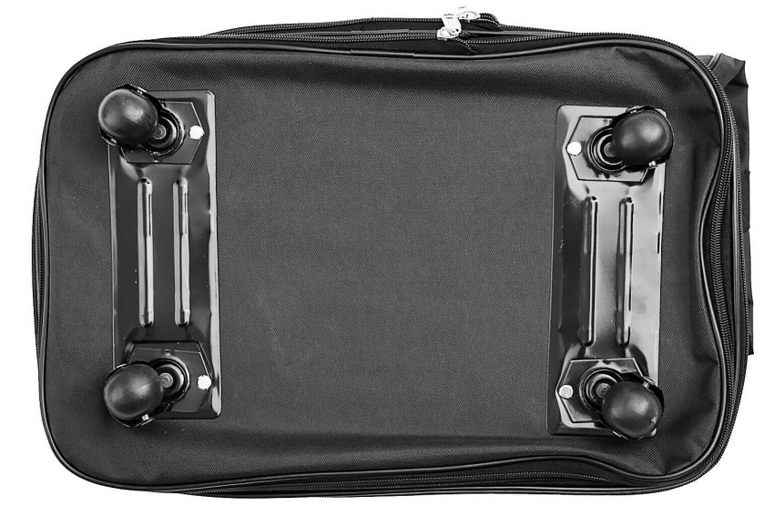 Expandable Rolling Duffel Luggage Travel Bag Wheeled Spinner Suitcase Luggage 4