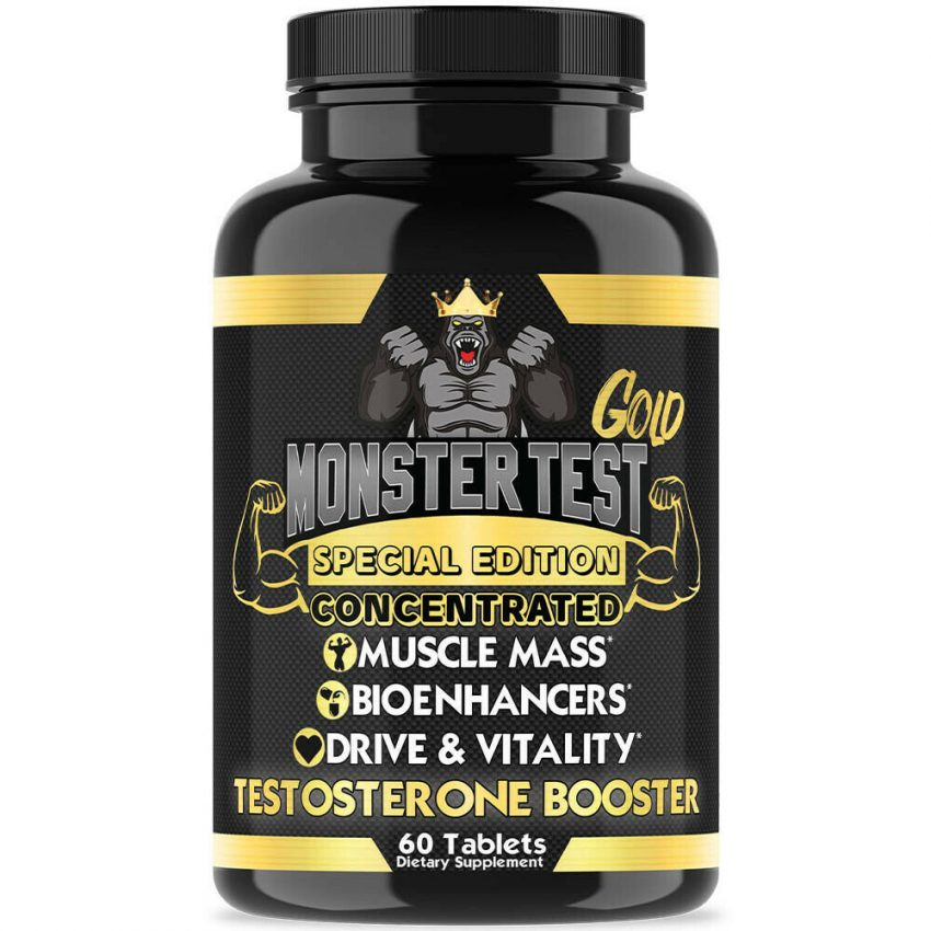 Testosterone Booster Sexpills for Men Muscle Mass Testosteron  w/ Zinc 1 Pack
