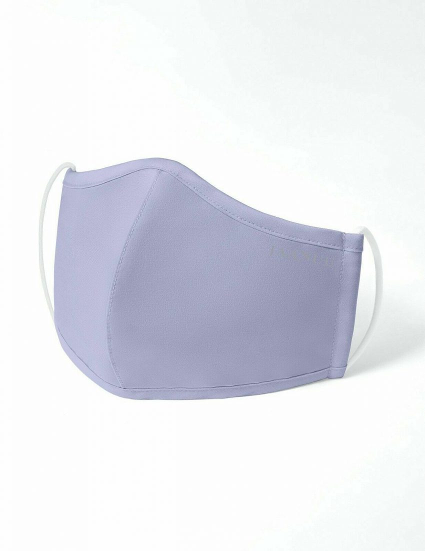 Lavender Jaanuu Antimicrobial Reusable Washable Multilayer Breathable Face Mask 1