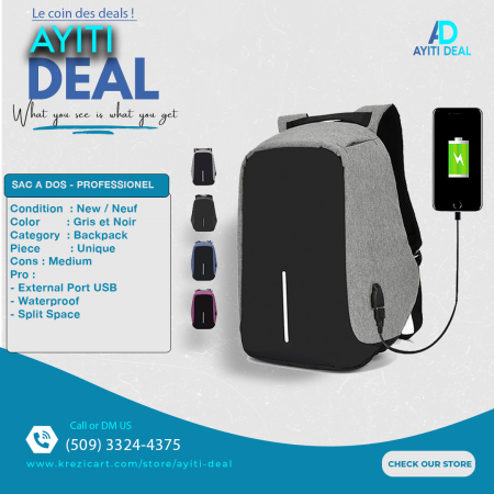 Waterproof Backpack for Students and Professional 1